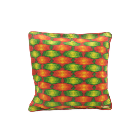 Green Neon cushion cover