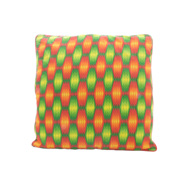 Green Neon cushion cover - large