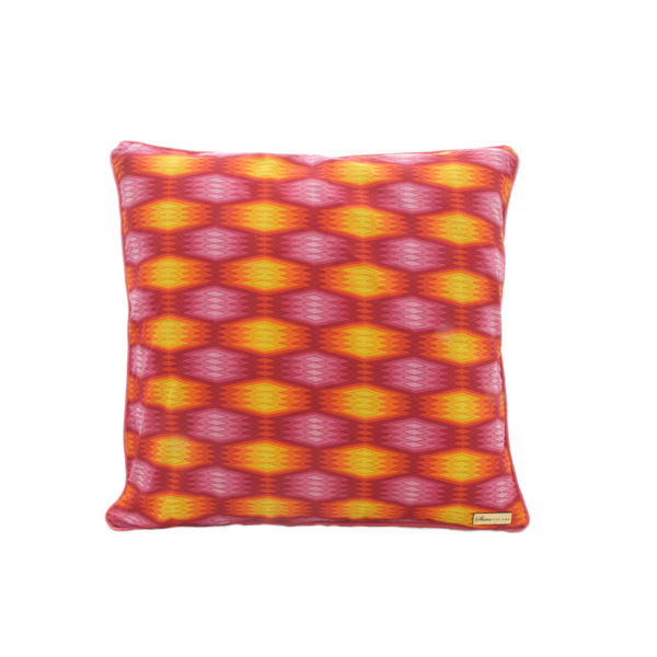 Pink Neon cushion cover