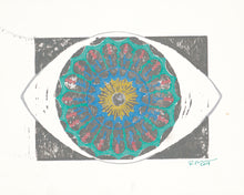 Load image into Gallery viewer, Diatom eye print 5x7