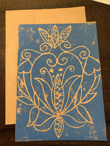 Montana Lace Notecard