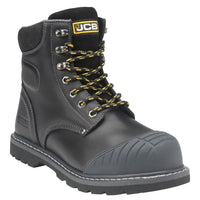JCB 5CX+ Black Boot With Side Zip