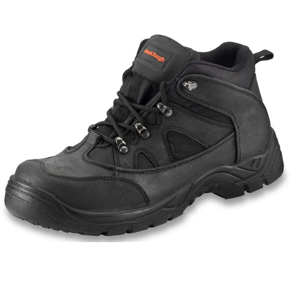 CONTRACTOR Mid Cut Black Boot