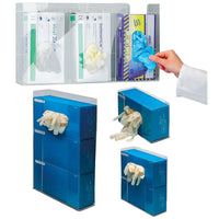 Wall-Mountable Acrylic Dispenser for Disposable Gloves