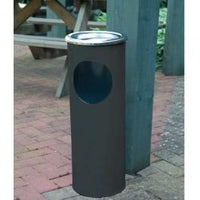 Steel Free Standing Combined Ash And Litter Bin (Single or in packs of 3 or 5)