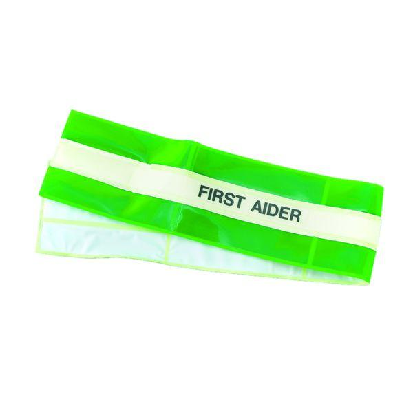 High Vis Armband - First Aider