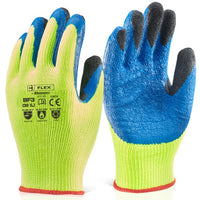 Copy of Latex Thermo Gloves - Hot & Cold Protection (Yellow/Blue)