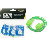 Easy Fit Corded Ear Plugs - Packs of 5