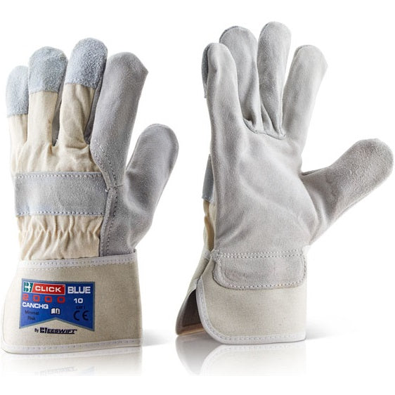 Canadian Chrome High Quality Rigger Gloves (Pack of 10)