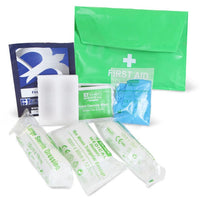 HSE Compliant One Person First Aid Kit IN PVC Pouch
