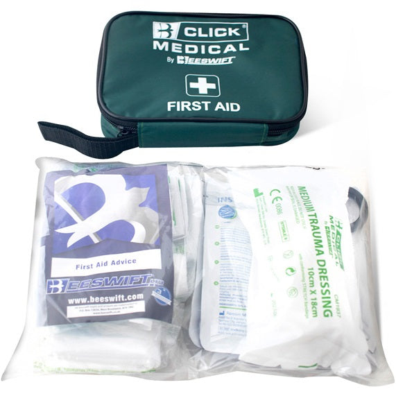 Travel Kit In A Bag - First Aid Kit Compliant To BS8599-1/2