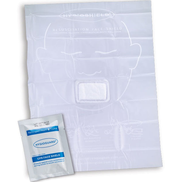 Hygio Guard - Resuscitation Face Shield - pack of 5