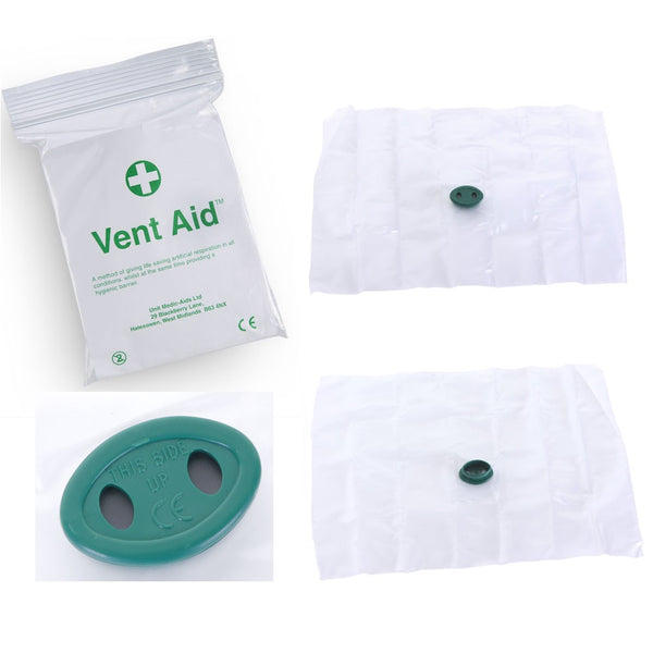 Ventaid Mouth to Mouth Resuscitation Face Shield - pack of 5