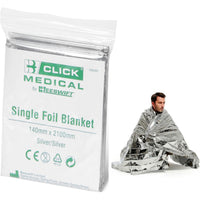 Emergency Medical Foil Blankets (Pack of 5 or 10)