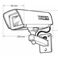 Maintenance-Free Dummy Outdoor CCTV Security Camera