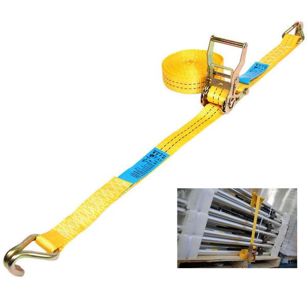 2 Tonne Cargo Straps With Claw Hooks