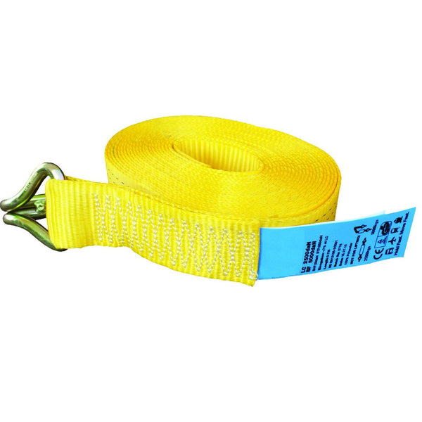 5 Tonne Tail Straps Only With Claw Hook