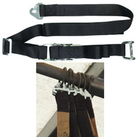 0.7 Tonne (700kgs) Internal Cargo Straps With Closed Rave Hook