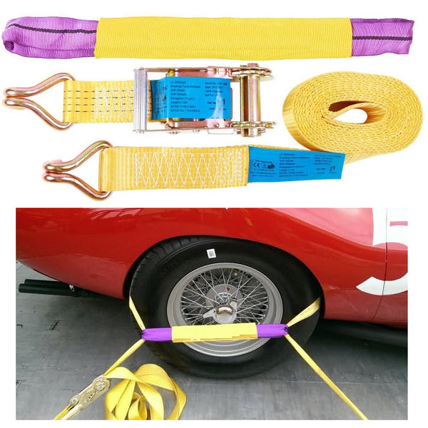 Car Recovery Cargo Strap With Choker