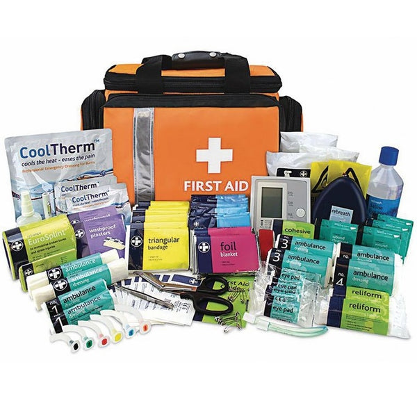 Fully Stocked Major Incident First Aid Kit