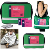 Disposable Emergency Foil Blankets (pack of 100 - Adult & Child)