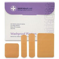 Pink Washproof Plasters Assorted (Pk 100)
