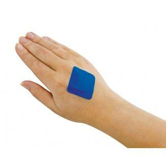 Blue Detectable Square Plasters (Pk of 100)
