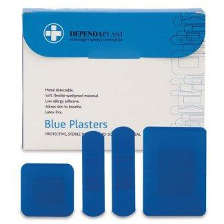 Blue Detectable Plasters Assorted (Pk of 100)