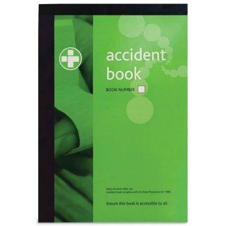 A4 Accident Reporting Book (Packs of 5 or 10 available)