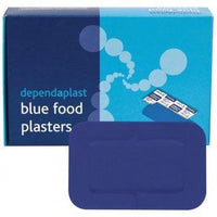 Blue Detectable Patch Plasters (Pk of 50)