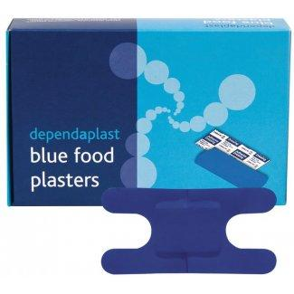 Blue Detectable Knuckle Plasters (Pk of 50)