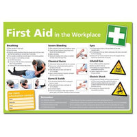 First Aid In The Workplace Health and Safety Posters (various Sizes And Materials)