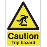 Caution Trip Hazard Warning Signs