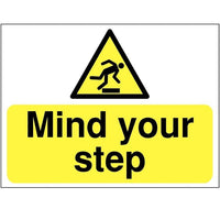 Mind Your Step Warning Signs