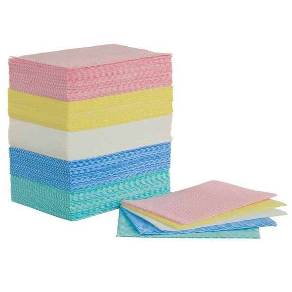 Colour Coded, All-Purpose Envirolite Cleaning Cloths