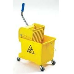 Lightweight Industrial Wheeled Bucket With Wringer
