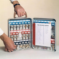 Secure Durable Portable Key Cabinet (20, 35 or 63 Keys)