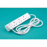 Extension Leads (2, 4 or 6 Sockets - up to 10 Metre Cord)