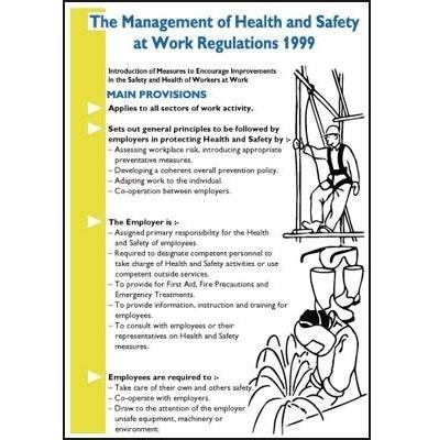 Management of Health and Safety at Work Information Poster and Pocket Guide