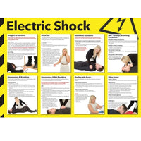 Comprehensive & Clear Electric Shock Poster
