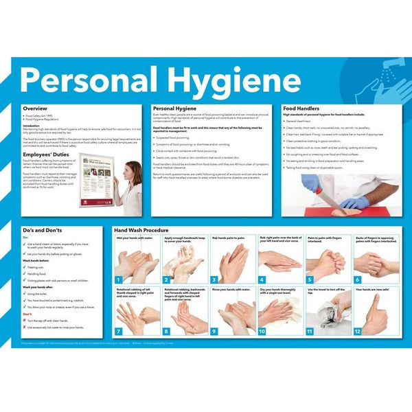 Personal Hygiene' Advisory Poster