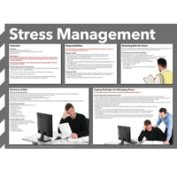 Stress Management Information Poster