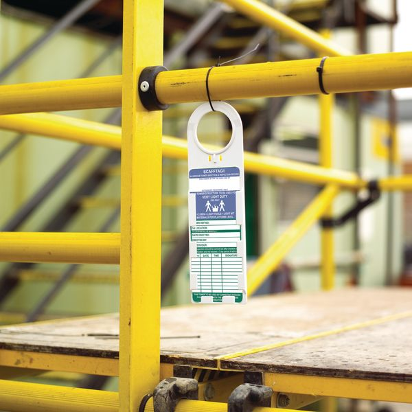 Essential and Informative Scafftag Towertag Kit (& Replacement Inserts)