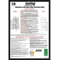 Scafftag® Towertag® Inspection Guide Poster for Mobile Tower Maintenance