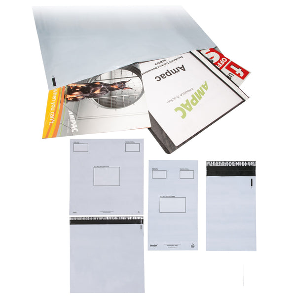 Keepsafe Envelope Extra Strong Polythene Opaque Peel & Seal Various Sizes [Box 100]