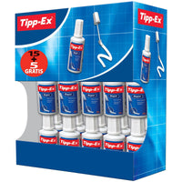 Tipp-Ex Rapid Correction Fluid Fast-drying with Foam Applicator 20ml White [Pack 1, 10 or 20]