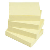 5 Star Value Repositionable Notes Various Sizes Yellow [Pack 12]
