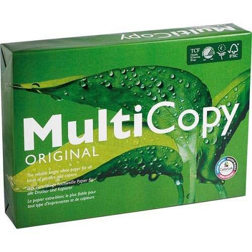 Multicopy Multifunctional Paper 160gsm A3 White [250 Sheets]