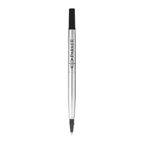 Parker Quink Rollerball Refill Fine Black Ink [Pack 12]