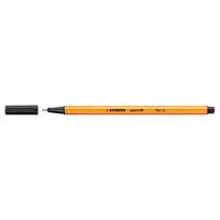 Stabilo Point 88 Fineliner Pen 0.4mm Line Black [Pack 10]